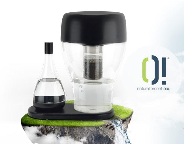création site fontaine filtrante
